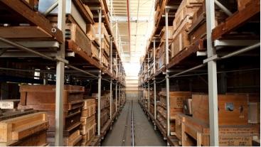 木型用立体倉庫
